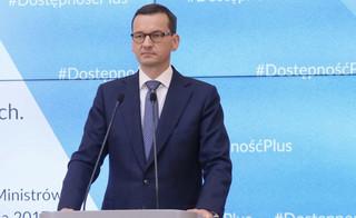 Premier: Apeluję do opozycji o zdrowy rozsądek, żeby awanturnicy nie byli wwożeni na teren Sejmu w bagażnikach