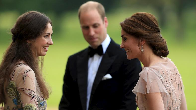 Rose, William i Kate