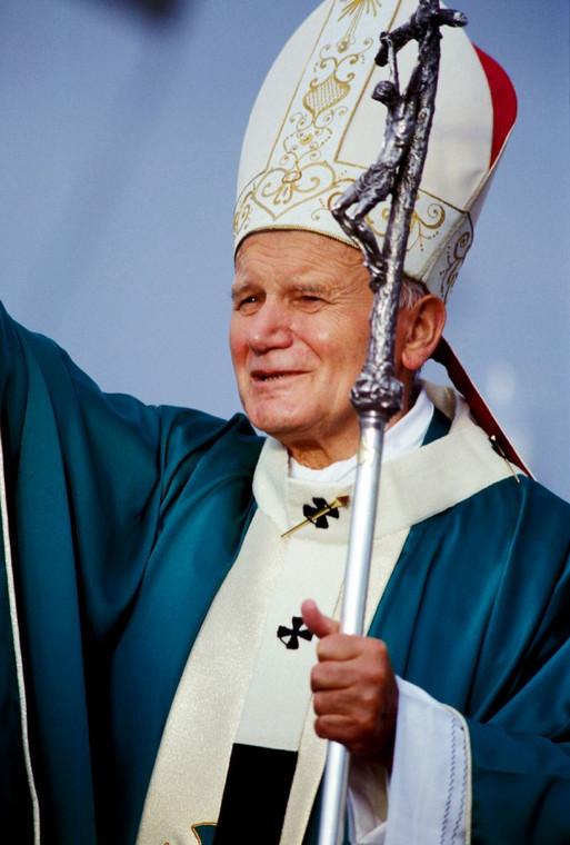 Papież Jan Paweł II z wizytą na Florydzie. 10.09.1987. fot. zuma/newspix.pl