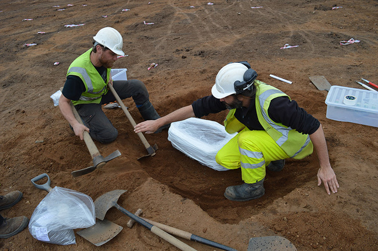 Arheologija, Škotska, Drevno oružje