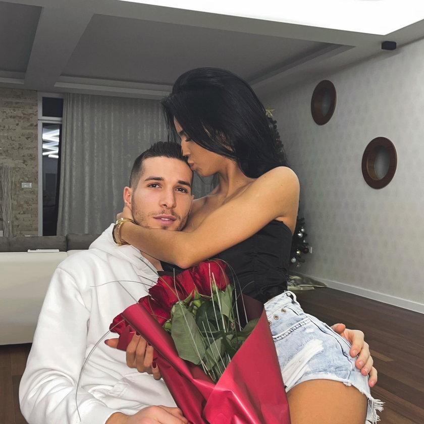Lirim i piękna Andela Simac (25 l.) są w sobie bardzo zakochani.