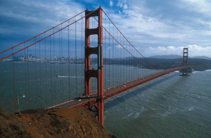 Golden Gate bridge - A