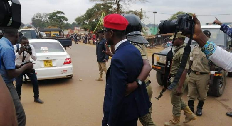 Presidential aspirant Bobi Wine arrested along side other People Power Movement leaders