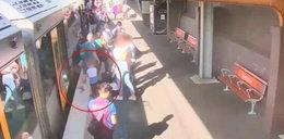 Straszny wypadek 4-latka na peronie. WIDEO