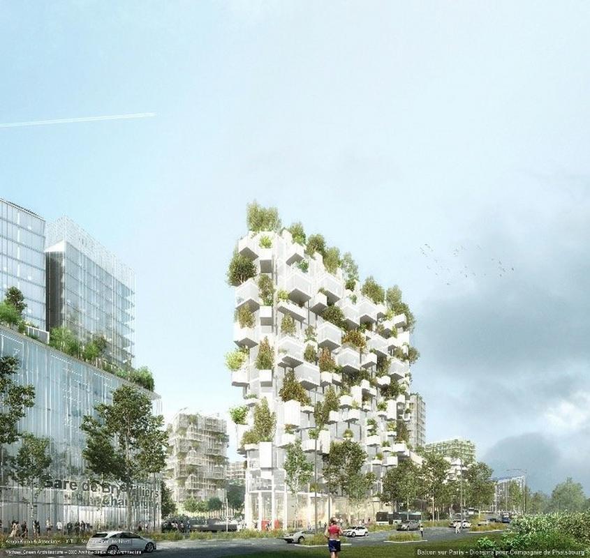 Plan budowy wieżowca zakłada posadzenie 2 tysięcy drzew i innych roślin