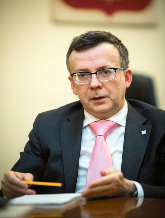Dobrosław Dowiat-Urbański, szef służby cywilnej  fot. wojtek Górski