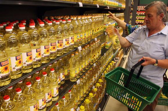 Trgovci očekuju da cene dignu i ostali uljari, koji su već dobili tužbu za kartelsko dogovaranje