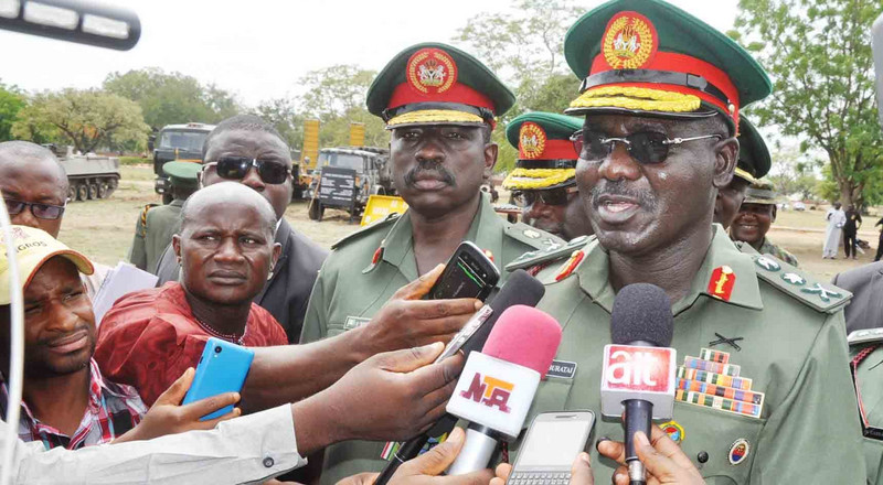 Buratai vows to secure Nigeria as Operation Python Dance III commences in Ondo
