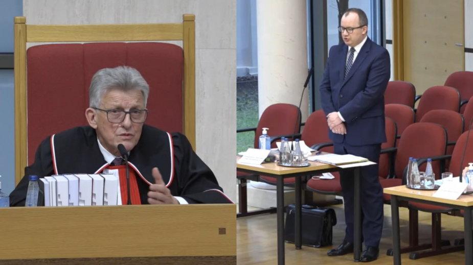 Stanisław Piotrowicz i Adam Bodnar