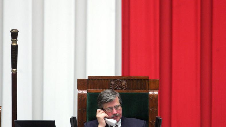 Marszałek Sejmu po cichu dogaduje się z lewicą