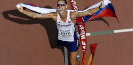 Lekkoatleta zdobył złoto, mimo że musiał zejść do... toalety!