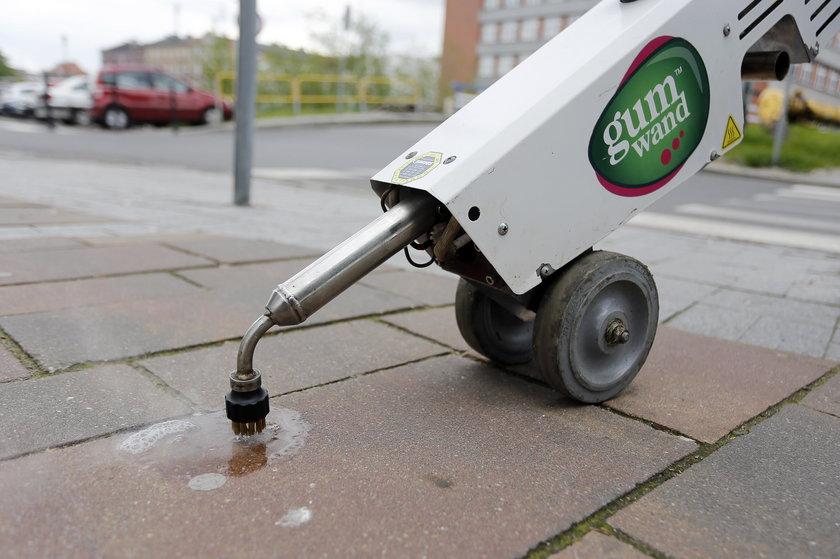 Maszyna do usuwania gum do żucia