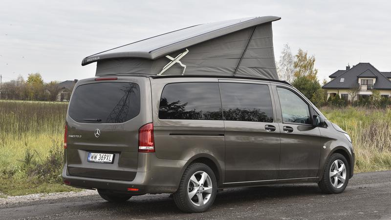 mercedes vito marco polo activity opinie test dane techniczne moto. Black Bedroom Furniture Sets. Home Design Ideas