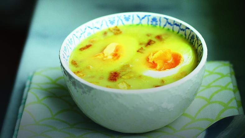 Hiszpanska Zupa Czosnkowa