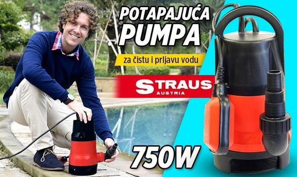 Straus potapajuća pumpa