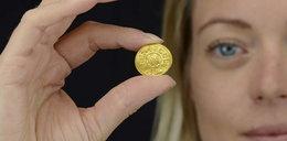 Niewiarygodne! Wygrzebał z piachu monetę wartą ponad milion złotych!