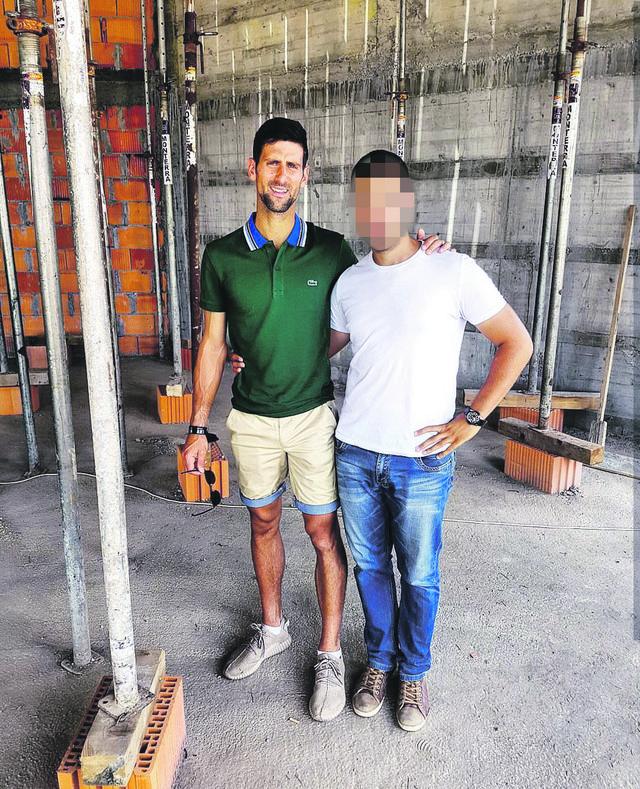 Novak na gradilištu