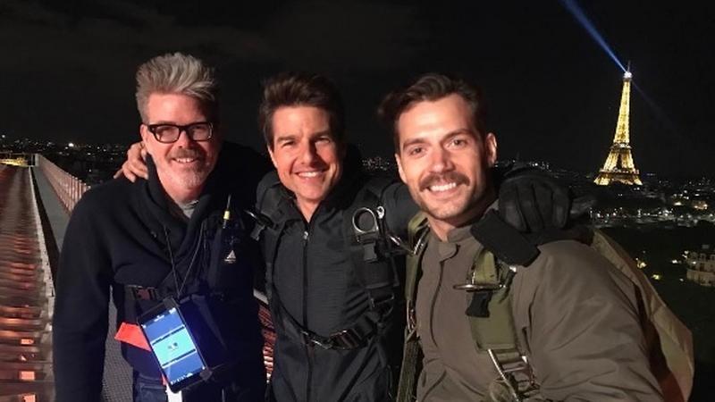 """Zdjęcie z planu """"Mission: Impossible 6"""""""
