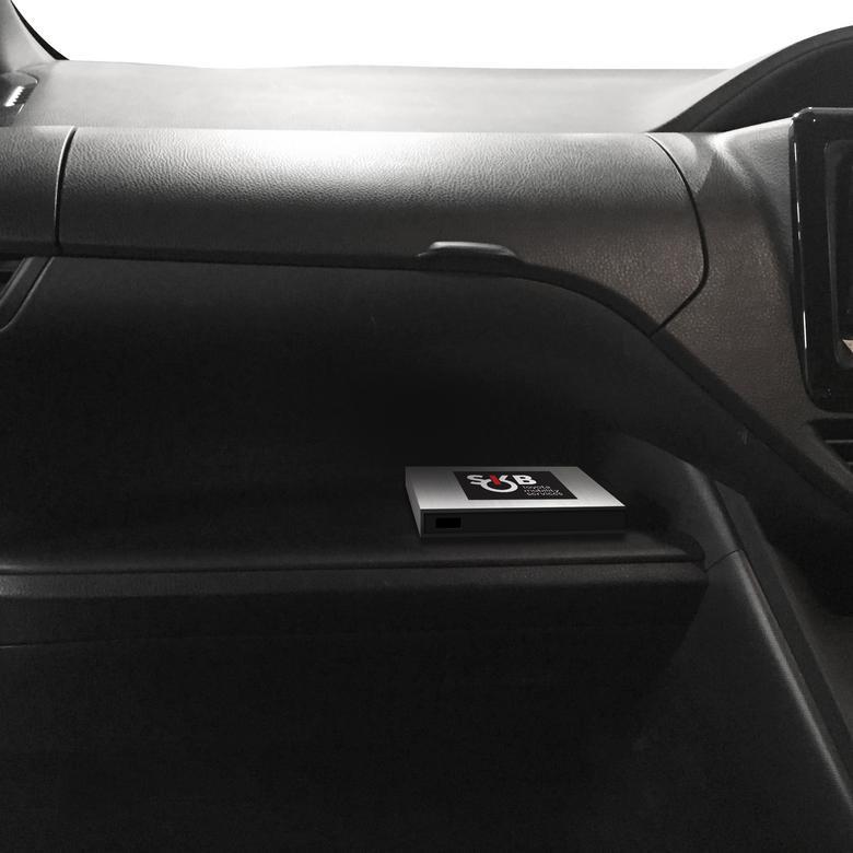 Toyota Smart Key Box - moduł w schowku. Ponoć będzie instalowany bez potrzeby modyfikacji samochodu