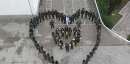 Ukraińscy żołnierze na Dzień Kobiet