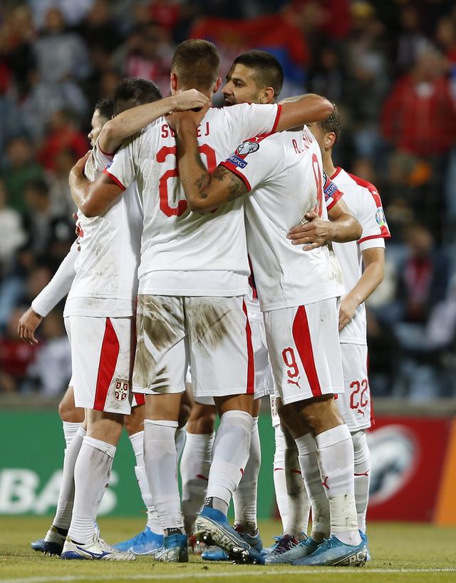 Fudbaleri Srbije na gostovanju Luksemburgu