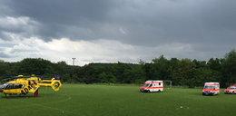 Piorun uderzył w boisko. 30 rannych dzieci