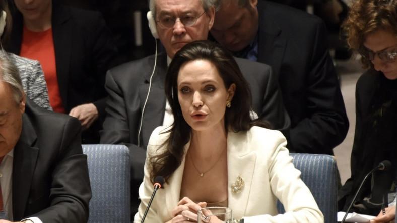 W mijającym tygodniu aktorka brała udział w posiedzeniu Rady Bezpieczeństwa ONZ...