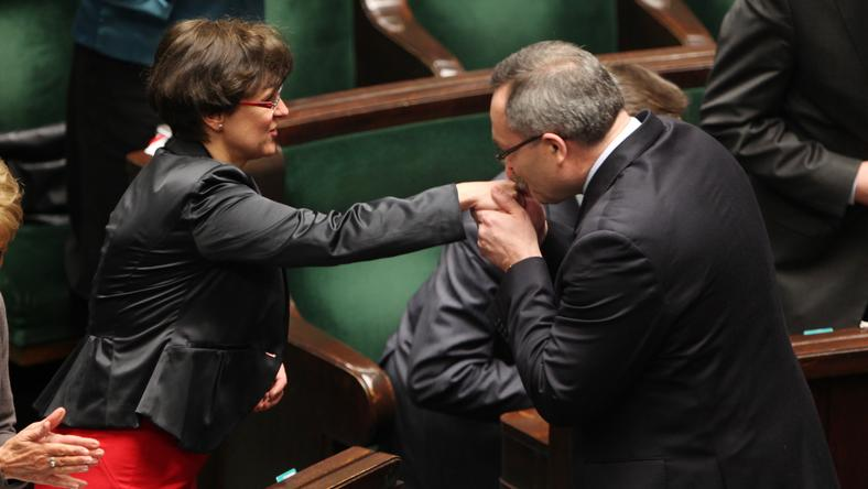 Joanna Kluzik-Rostkowska na posiedzeniu Sejmu, fot. PAP/ Tomasz Gzell