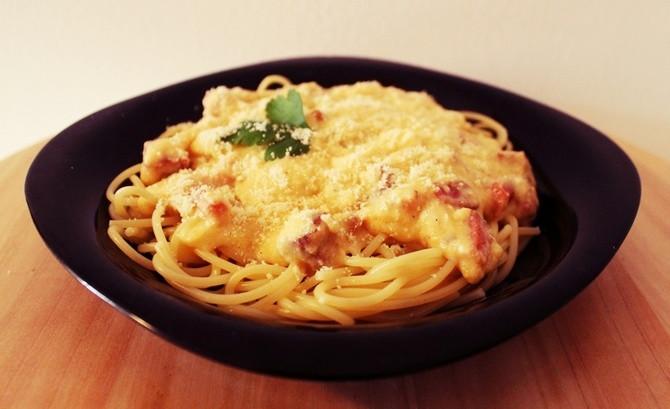 Ko može da odoli kremastim špagetama?
