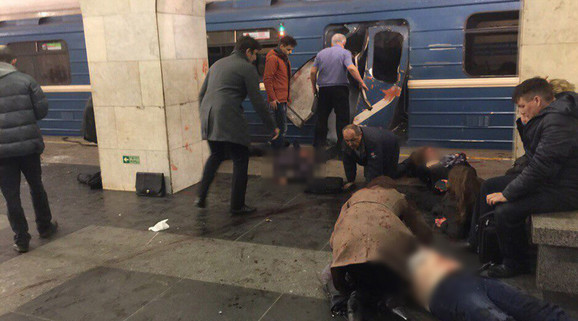 Napad u Sankt Peterburgu