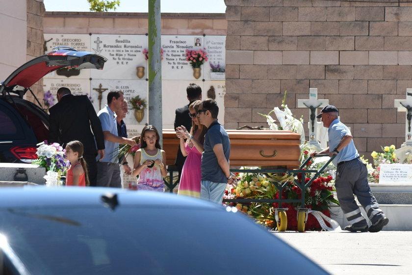 Pogrzeb Eduardo Cruza