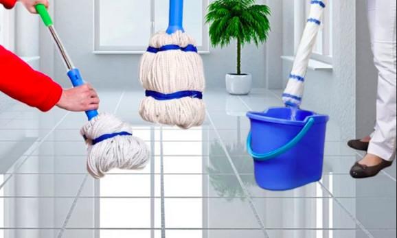 Self mop čistač