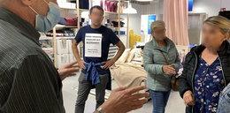 Chcieli pomścić Karolaka? Bezmaseczkowy szturm na Ikeę