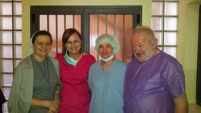 Polscy lekarze uratowali małego Jurka