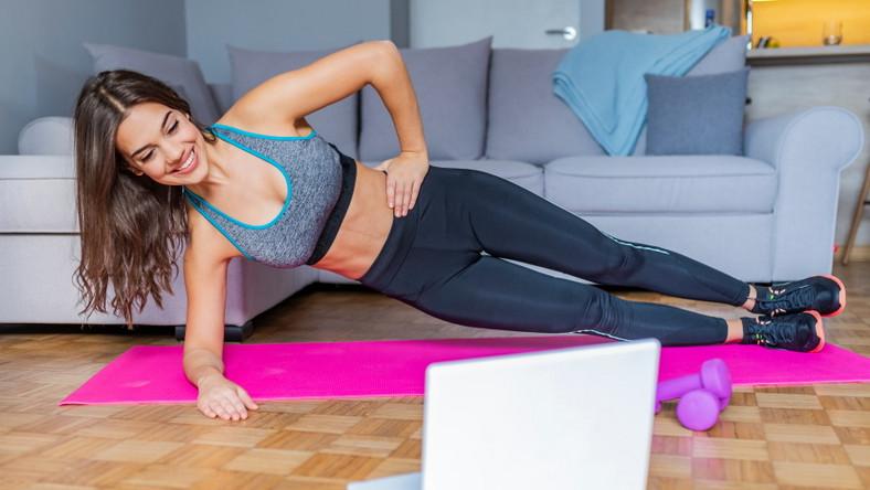 Trening online w domu