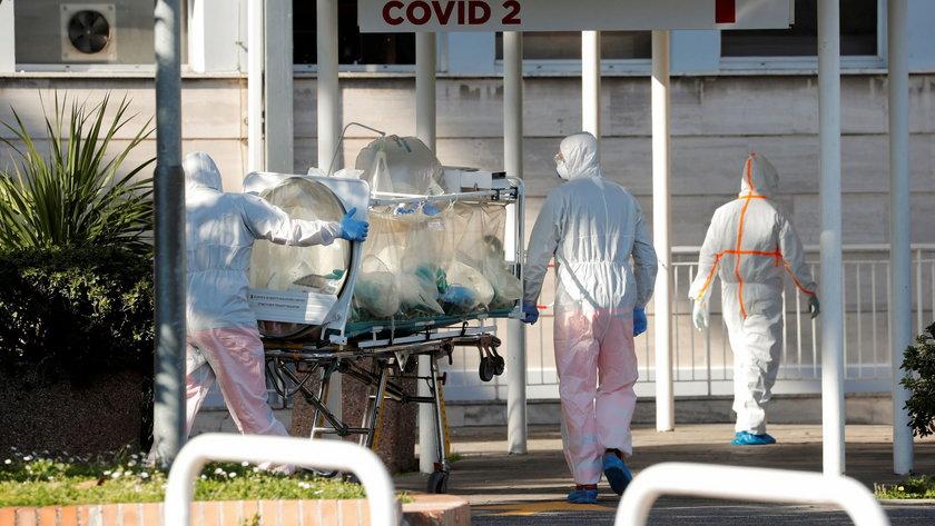 Włochy walcząz koronawirusem