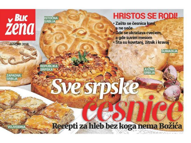Sve srpske česnice: recepti i najlepši božićni običaji čekaju vas u novom broju BLIC ŽENE