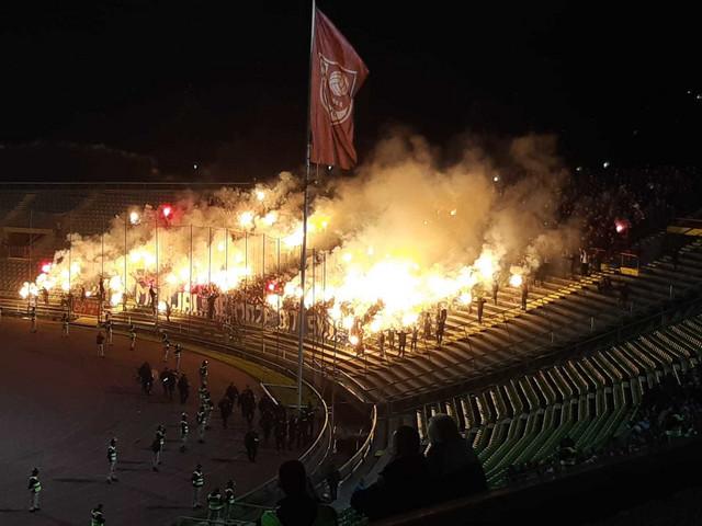 Bakljada na stadionu Sarajeva