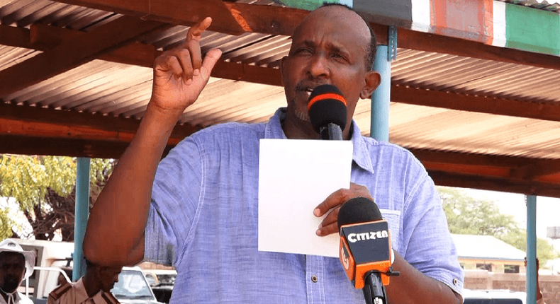 Drama as Duale is forced to flee out of Orahey town market in Garissa