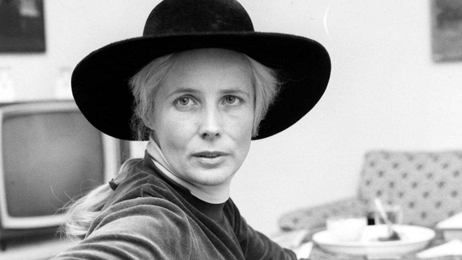 Agnieszka Osiecka w 1977 r.