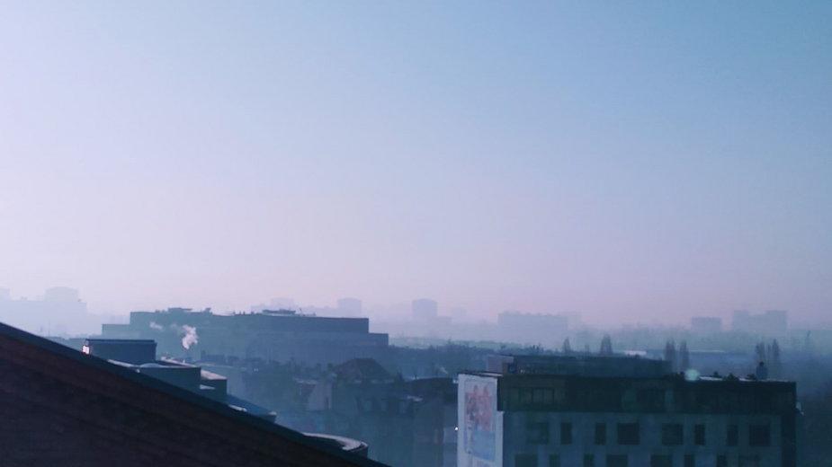 Smog w Poznaniu fot. Codzienny Poznań