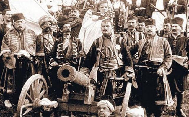 """Kadar iz filma """"Karađorđe"""" (1911)"""