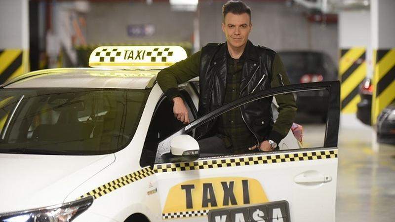"""Kamil Baleja prowadzącym program """"Taxi Kasa"""""""