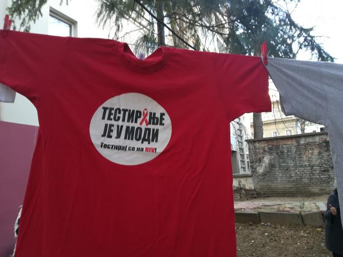 Svakog dana od 8 do 19 sati sve do 29. novembra zainteresovani će biti u mogućnosti da se besplatno testiraju na HIV i hepatitis C od 8 do 19 sati u prostorijama Centra za prevenciju HIV u Beogradu u Ulici Braće Nedić 28
