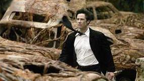 Keanu Reeves lubi biegać z odznaką