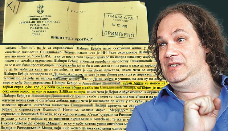 Dejan Andjus Tuzba pokrivalica foto privatna arhiva A Dimitrijevic