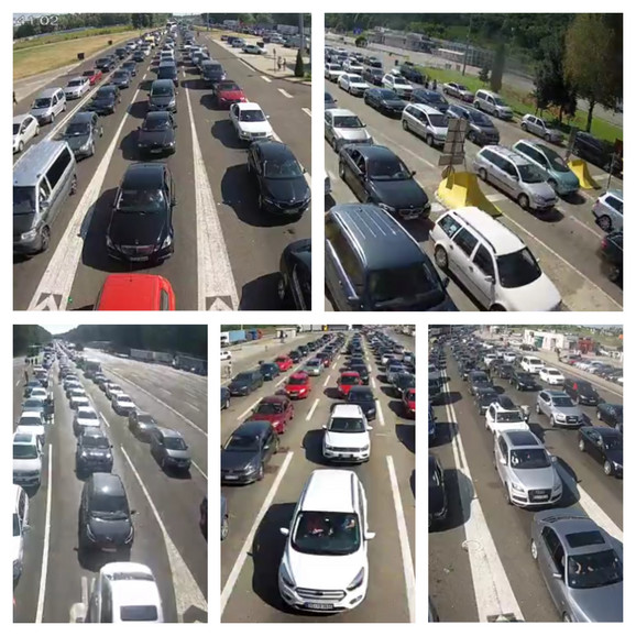 Ovako su jutros izgledali srpski granični prelazi