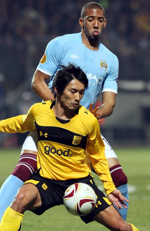 Fudbaleri Arisa u duelu sa Mančester sitijem