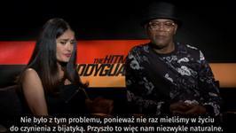 """Salma Hayek i Samuel L. Jackson o filmie """"Bodyguard Zawodowiec"""""""