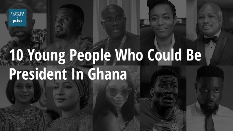10 young people who could be president in Ghana